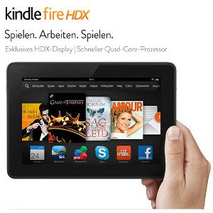 Kindle Fire HDX 7 Zoll