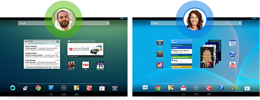 Android 4.3. Nutzer