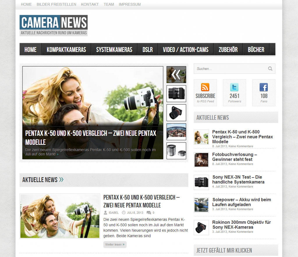 cameranews screenshot