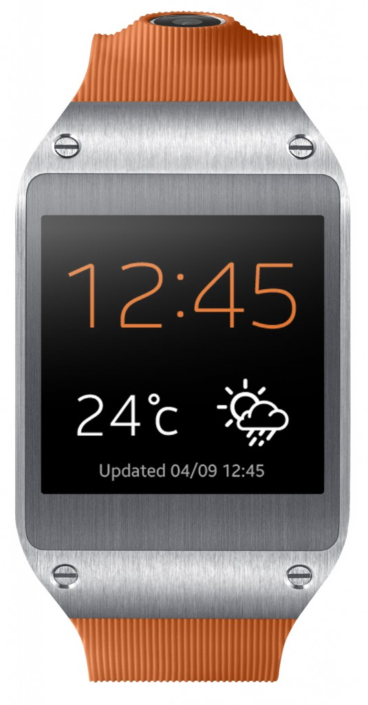 Galaxy Gear Orange